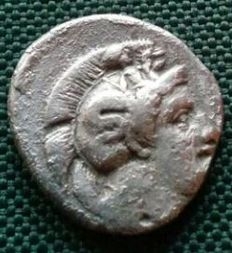 Ancient Greece – Stater coin from the city of Thurii – Minted circa 400-350 B.C.