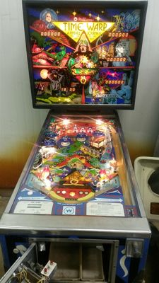 """Time Warp"" pinball machine"
