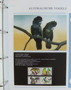 Birds – Topical collection in 3 special WWF albums