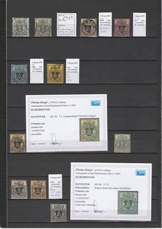 Hannover 1850/1864 - Virtually completed collection