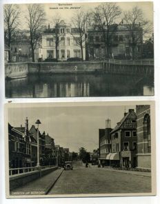 The Dutch province of South-Holland, 1900-1960, views of cities and villages 102 x