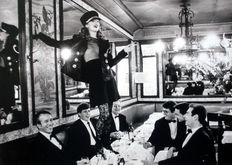 Arthur Elgort - Kate Moss at Brasserie Lipp, Paris - 1993