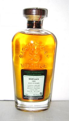 Mortlach 1991 24 Years old - Speyside - 70cl - 55,5% - Signatory Vintage