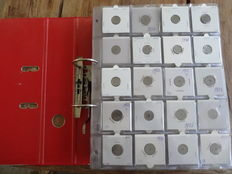 France - Collection of coins in collection album and on loose sheets (over 700 pieces)