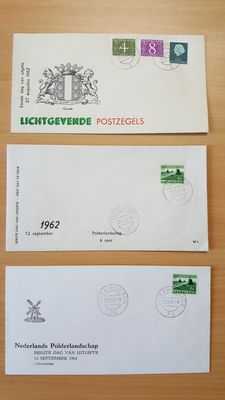 The Netherlands 1962/2009 – Near complete collection of W envelopes + various