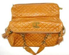Cavalli – Large handbag, also usable as shopper, cognac colour