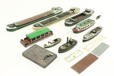 Artitec N - Set with 9 Boats