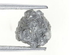 Natural rough diamond - 8,56 x 6,58 x 6,30 mm - 2.68ct