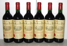1982 Château Tour Saint-Pierre, Grand Cru de Saint-Emilion, Lot of 6 Bottles