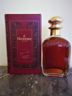 Cognac Hennessy Library decanter - 70 cl & 40%
