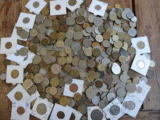 World - Batch of coins (approx. 3 kg)