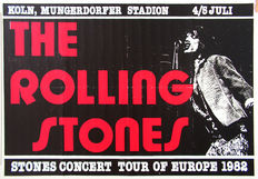 Anonymous - Rolling Stones in Cologne - 1982.