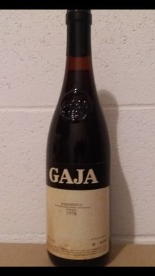1978 Gaja Barbaresco DOCG,  1 bottle