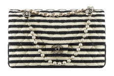 "Chanel - Classic Double Flap Bag - ""Coco Sailor"" LImited edition"