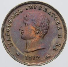 Kingdom of Italy – 3 cents 1812 (Milan) – Napoleon