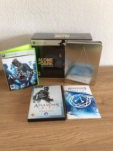 Lot of 2 limited editions for the Xbox360 like Assassin's Creed