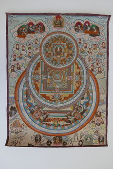 Nepalese thangka - Nepal - late 20th century