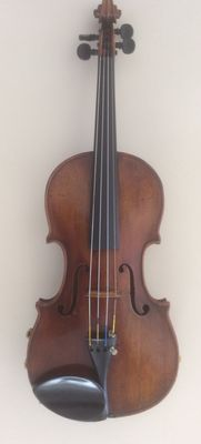 Nice, old handmade violin, probably French around 1900.