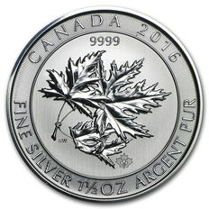 Canada - Multi Maple Leaf Superleaf 1.5 oz 2016 - 8 CAD - 999 Silver coin