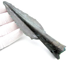 Bronze Age Socketted Spearhead - 135 mm