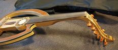 New Silent Oud / Lute / Ud with bag and cable, 11-string