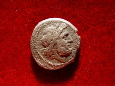 Roman Republic - Anonymous silver victoriatus. Rome. After 211 BC.