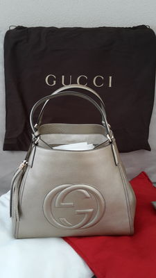 Gucci - Soho Shoulder Bag Gold Leather