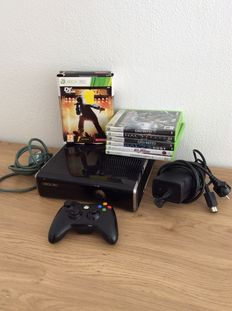 Xbox360 - 120 gb - Including 7 games
