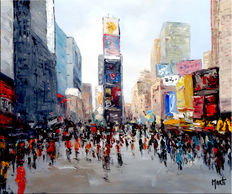Jan Marti- Time square - NY