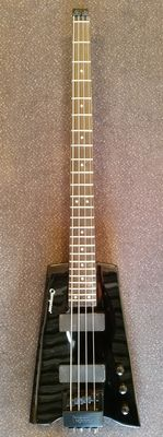 Cherrystone Headless bass guitar with lot and bag