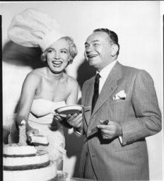 Bernard of Hollywood - Marilyn Monroe & Edward G Robinson - 1951