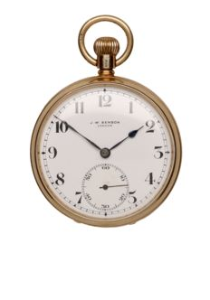 J.W. Benson – Men's pocket watch – 1934