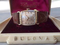 "Bulova ""Director"" Mens watch Cal 10BC with Bulova box from 1950"