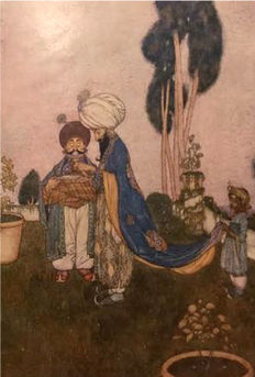 Edmund Dulac; Laurence Hausman (retold) - Stories from the Arabian Nights - ca. 1923
