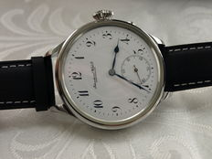 24. IWC Schaffhausen marriage men's wristwatch 1910-1911