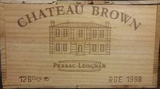 1998 Château Brown, Pessac-Léognan - 12 bottles in OWC