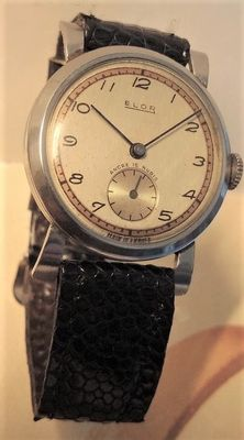 ELOR Made in France - men's watch - 1940s