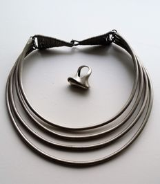 Miao necklace and ring