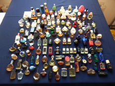 Collection of 145 perfume bottles