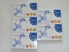 Germany – Year sets 2004A, D, F, G and J. (5 pieces) – complete