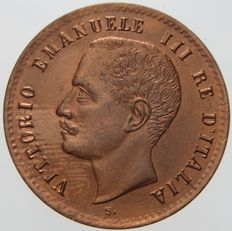 "Kingdom of Italy – 2 Centesimi, 1903, ""Vittorio Emanuele III"""