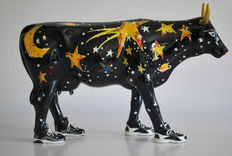 Jan Raymond for Cow Parade - type Moo Beam - Large and Retired