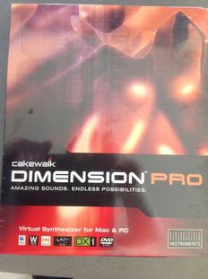 Cakewalk Demension Pro incl. 4x sample CDs by E-Mu Proteus