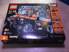 Technic - 8110 - Mercedes-Benz Unimog U 400