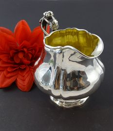 Silver antique 835 creamer from 1856 11.7 cm