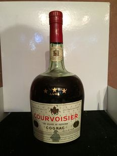 1.5L Magnum Bottle of Courvoisier 3 Star Cognac - 'The Brandy of Napoléon' - Bottled 1960s