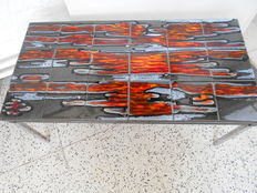 Manufacturer unknown – vintage designer coffee table