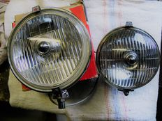 Two old and flawless Lucas fog lights 1960s