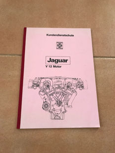 Jaguar v 12 Motor book - Jaguar Serie 3 E Type Repair Operating Manual - Jaguar Open 2 seater parts catalogue