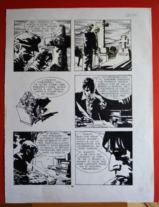 Mari, Nicola - original plate for Dylan Dog, issue no. 123 - (1996)